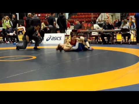 2016 Canadian Senior Championships: 53 kg Kaitlin Kucharski vs. Abby Lloyd