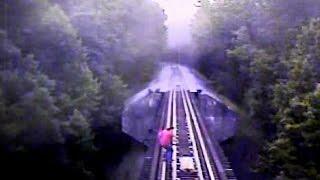 UNBELIEVABLE VIDEO: Train runs over people attempting to cross railroad bridge; women survive