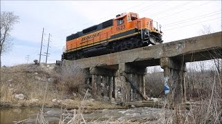 Railfanning BNSF Manitoba w/ Cabooose, CP and CN With Horn Shows in Winnipeg, Manitoba (04/22/2016)