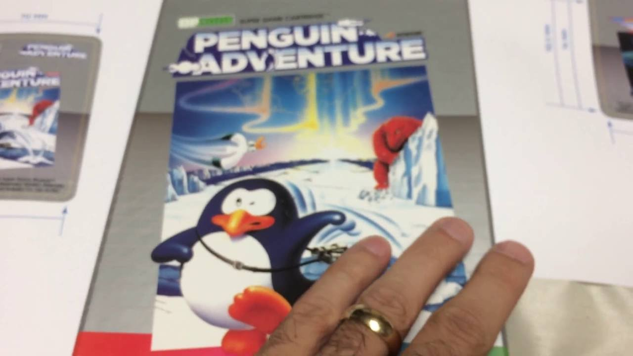 Status update on Penguin Adventure and Gradius for ColecoVision