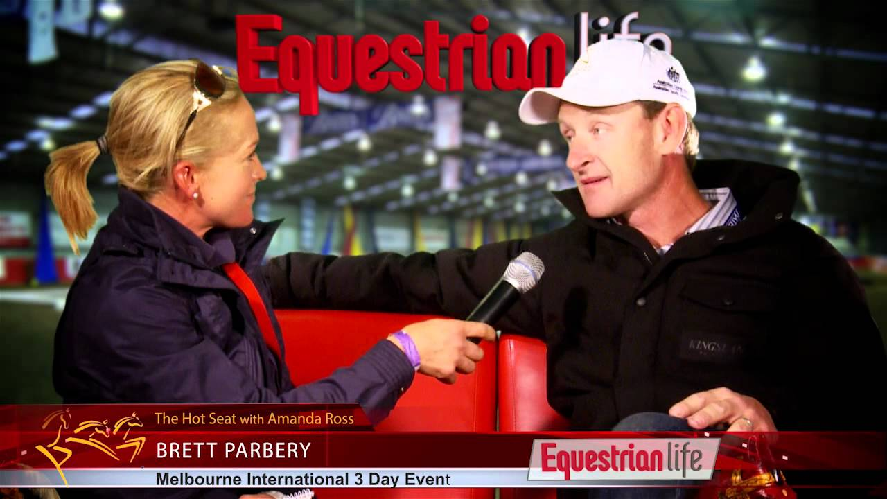 Amanda Ross Interviews Brett Parbery about Olympic Selection and his role as Eventing Dressage coach