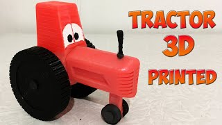 3D Printed Tractor from Cars