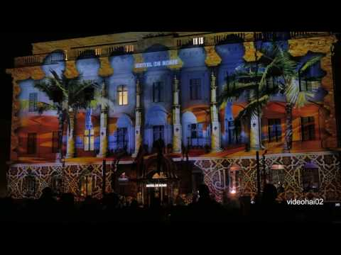 4 K  12.  Festival of Lights 2016  Berlin Hotel de Rome  Die ganze Show
