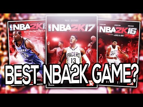 Which NBA2K Game Is The Best? Comparing 2K15, 2K16 & 2K17