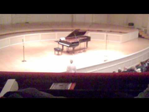Keith Jarrett: Encore from solo show at Orchestra Hall, Chicago -- February 12, 2010