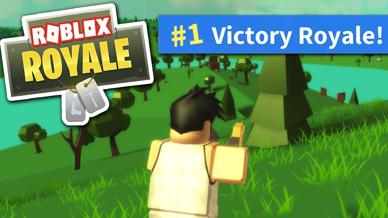 Roblox Fortnite Victory Royale