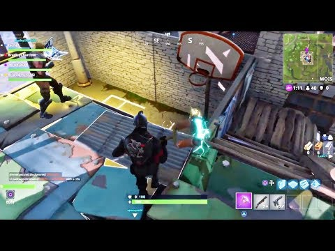 I Made A Basketball Goal In Fortnite - First Try - Playing Basketball In Fortnite