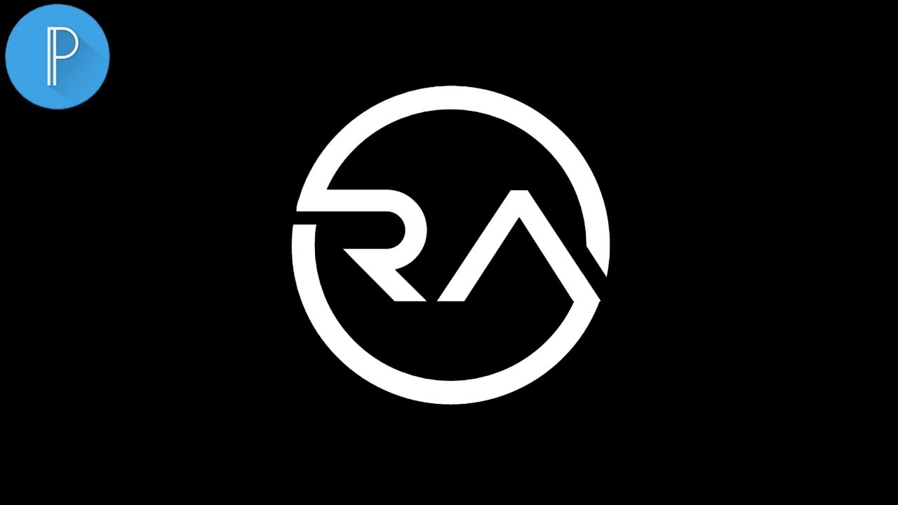 Cara Membuat Logo Raffi Ahmad Di Android Tutorial Pixellab Youtube