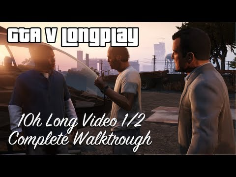 GTA 5 All Missions Full Game Walkthrough...