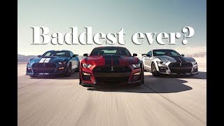 Is the 2020 Mustang Shelby GT500 the baddest car on the planet? Debut of the shelby gt500