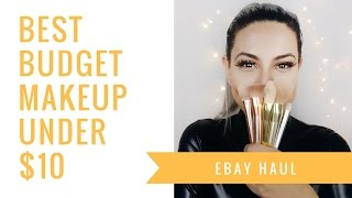 EBAY HAUL! Best Budget & Brand Makeup Under $10