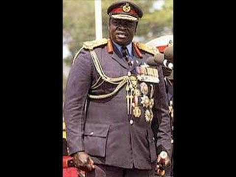 Idi Amin - the Amazin' Man song
