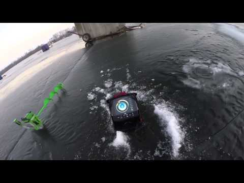 Gopro hero 4 ice fishing for slab crappies youtube for Best gopro for fishing