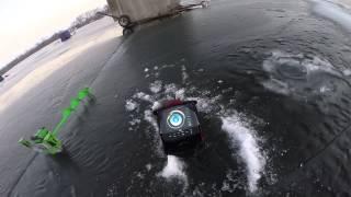 GoPro Hero 4: Ice Fishing for Slab Crapp...