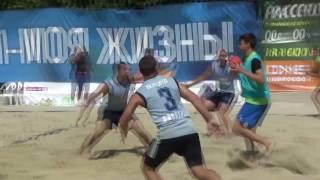 В Ставрополе прошел чемпионат России по пляжному гандболу