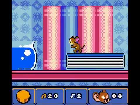Game Boy Color Longplay [023] Tom & Jerry in Mouse Attacks!