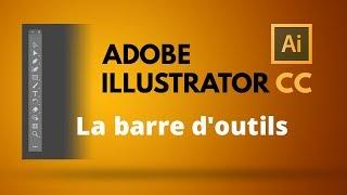 Comment gérer la barre des outils dans Illustrator