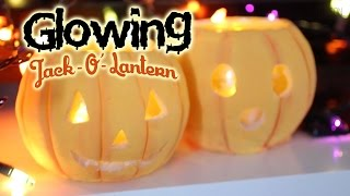 Jack O Lantern Pumpkins Tutorial : How To Make Salt Dough / Playdoh / Play dough at home! Thumbnail