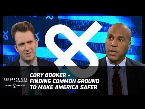 Cory Booker - Finding Common Ground to Make America Safer - The Opposition w/ Jordan Klepper