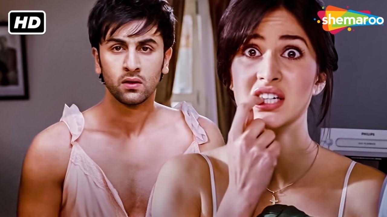 Ranbir Kapoor का Wardrobe malfunction   Ajab Prem Ki Ghazab Kahani   Best Comedy Scenes