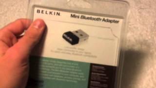 Belkin Mini Bluetooth Adapter unboxing