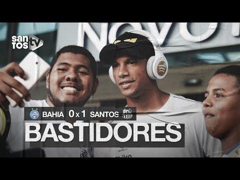 BAHIA 0 X 1 SANTOS | BASTIDORES | BRASILEIRÃO (13/07/19)