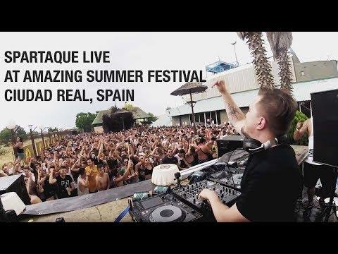 Spartaque Live @ Amazing Summer Festival, Ciudad Real, Spain