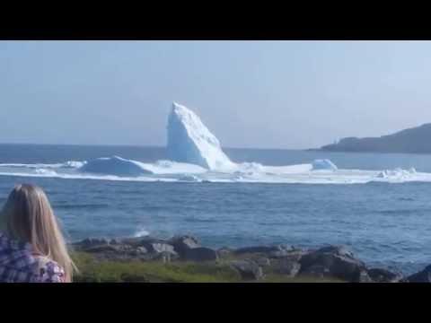 Iceberg collapse