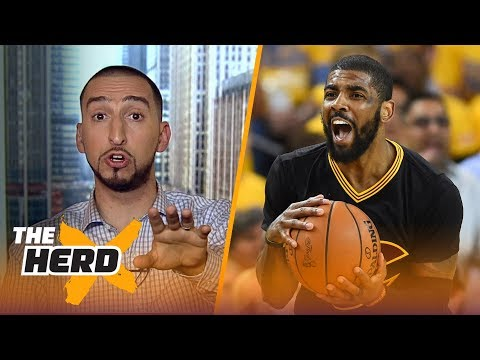 Nick Wright says Kyrie Irving is not a franchise player, discusses Ezekiel Elliott | THE HERD