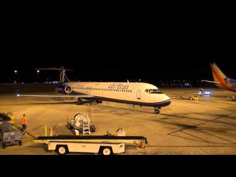 The last AirTran flight EVER arrives in Tampa