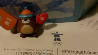 Vancouver 2010 Olympic  limited edition vinyl mascots