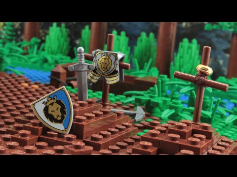 Lego Castle Lion Knight's Fall Chapter 9 Stop Motion Animation