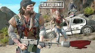 BEST WEAPON in the ZOMBIE APOCALYPSE! (Days Gone, Part 6)