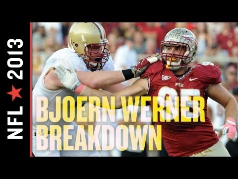 2013 Colts Draft: Indianapolis Strengthens Defense, Adds Pass-Rusher Extraordinaire Bjoern Werner