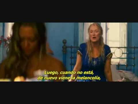Sleeping throught my fingers (Mamma mia movie) con subtitulos es español