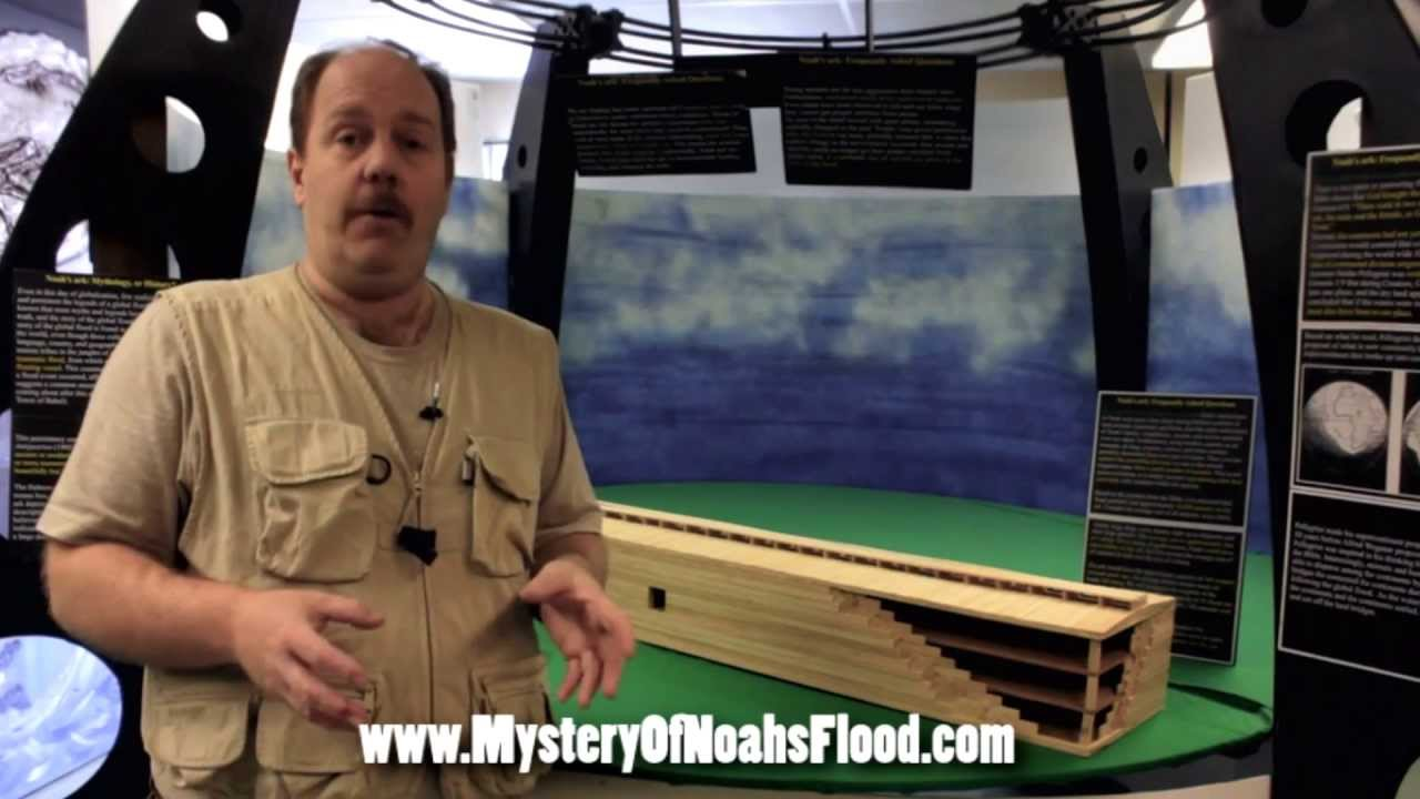 Ian's promo for The Mystery of Noah's Flood documentary by wazooloo