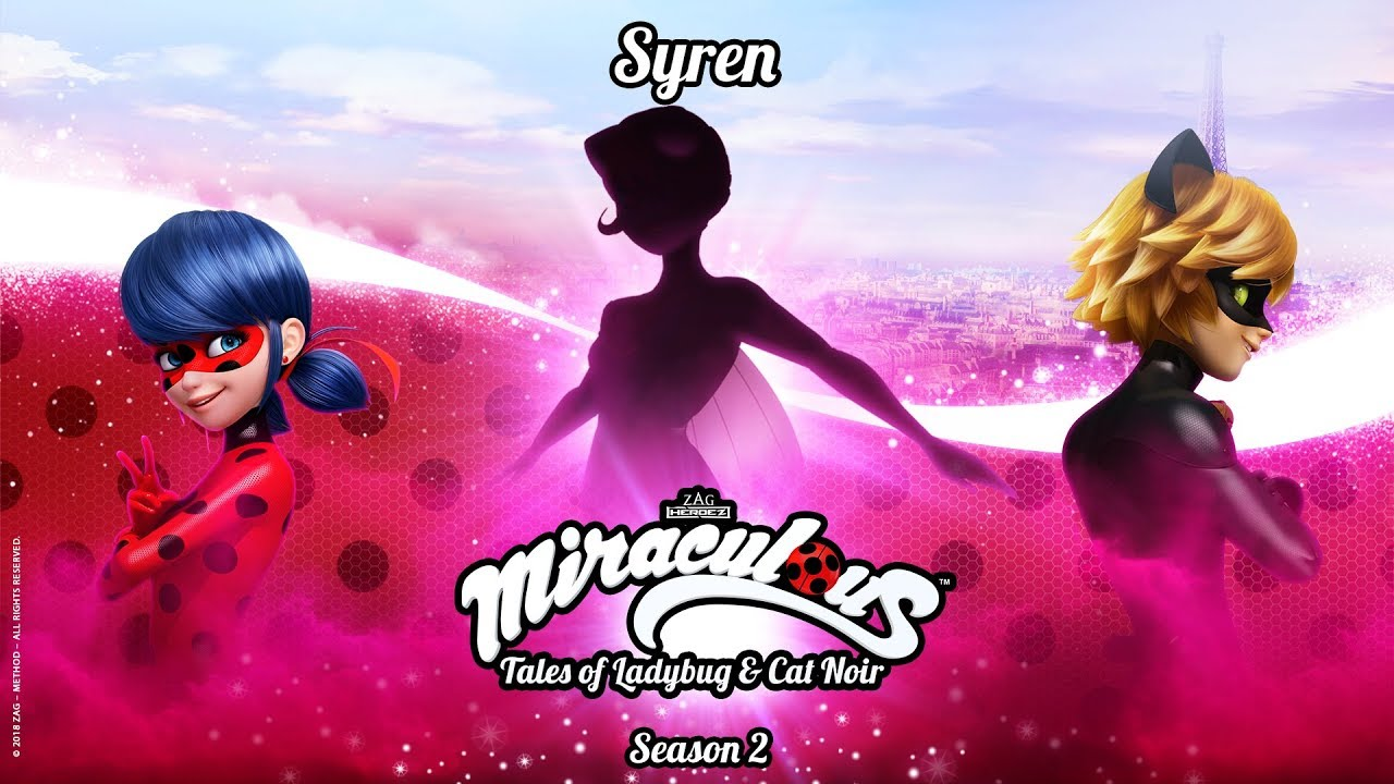 MIRACULOUS | 🐞 SYREN - OFFICIAL TRAILER 🐞 | Tales of Ladybug and Cat Noir