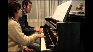 「Marumaru Morimori Mini」piano for 4 hands