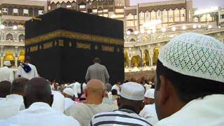 Azan e Magrib at Khana Kaba Makkah on 29 Ramadan 1432