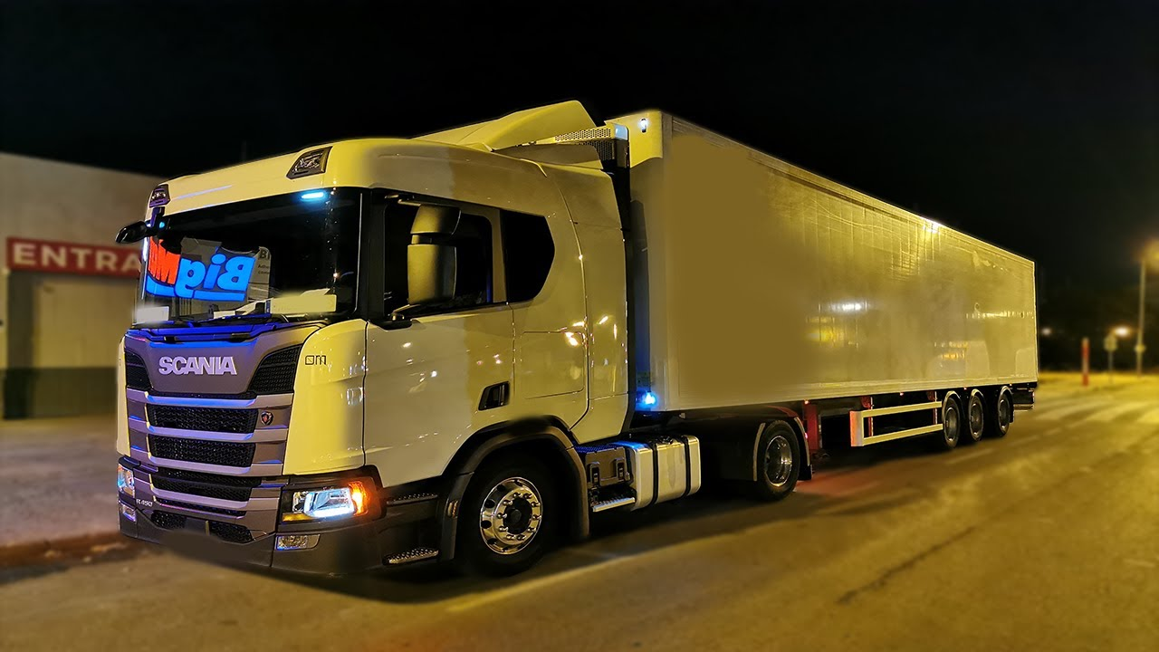 TruckVlog #23 |🚀 Ruta Nocturna🚚 | Laur's Garage | Scania nextgen R450 |