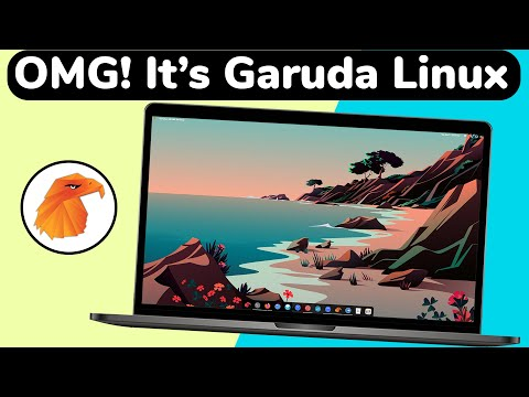 Garuda Linux - The BREATH TAKING Linux DISTRO of 2021
