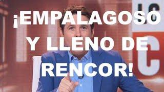 ¡CINTORA SE DESPIDE LLENO DE RENCOR, AUTOALABÁNDOSE SIN PUDOR ALGUNO Y HABLANDO DE CACERÍA!