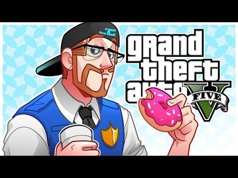 GTA 5 Roleplay - Police Love Eating Donuts! (GTA 5 Online Multiplayer)