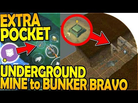 EXTRA POCKET UNLOCKED! - UNDERGROUND MINE To BUNKER BRAVO - Last Day On Earth Survival Update 1.8.2
