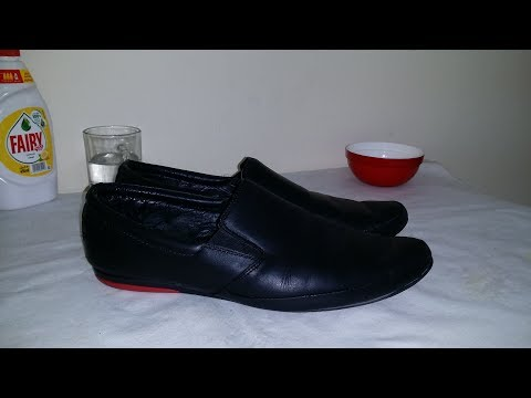 How to Polish shoes without Polish ? and Clean Shoes at Home ?