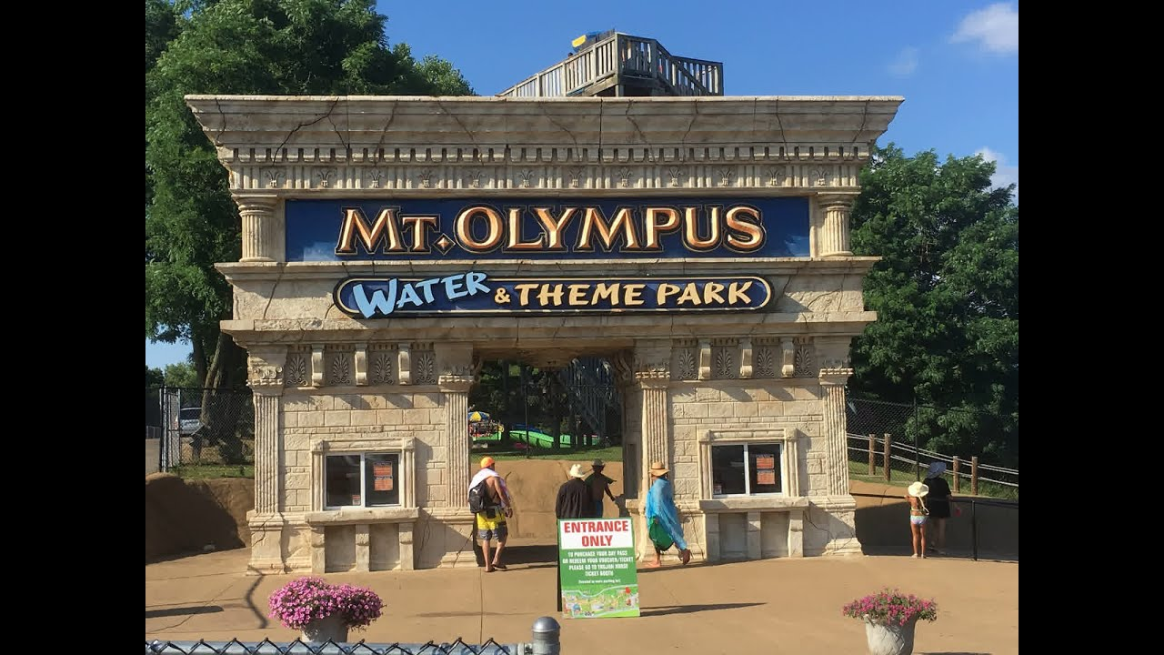 mt olympus water theme park tour 2016 wisconsin dells. Black Bedroom Furniture Sets. Home Design Ideas
