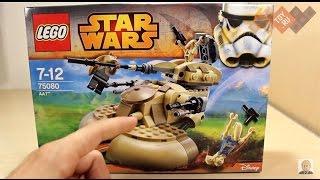Обзор Lego Star Wars 75080 Лего Звездные Войны Бронированный штурмовой танк ААТ. В продаже на TOY.RU