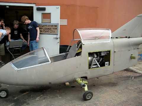BD-5 Turbine Testing