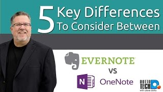 Evernote vs Onenote - 5 Key Differences