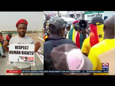 Group stages another protest in Western Region Capital, Takoradi- AM Show on JoyNews (21-9-21)
